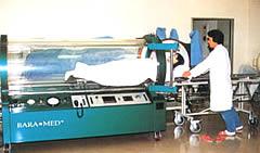 高気圧酸素療法での業務