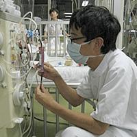 持続透析装置操作・管理